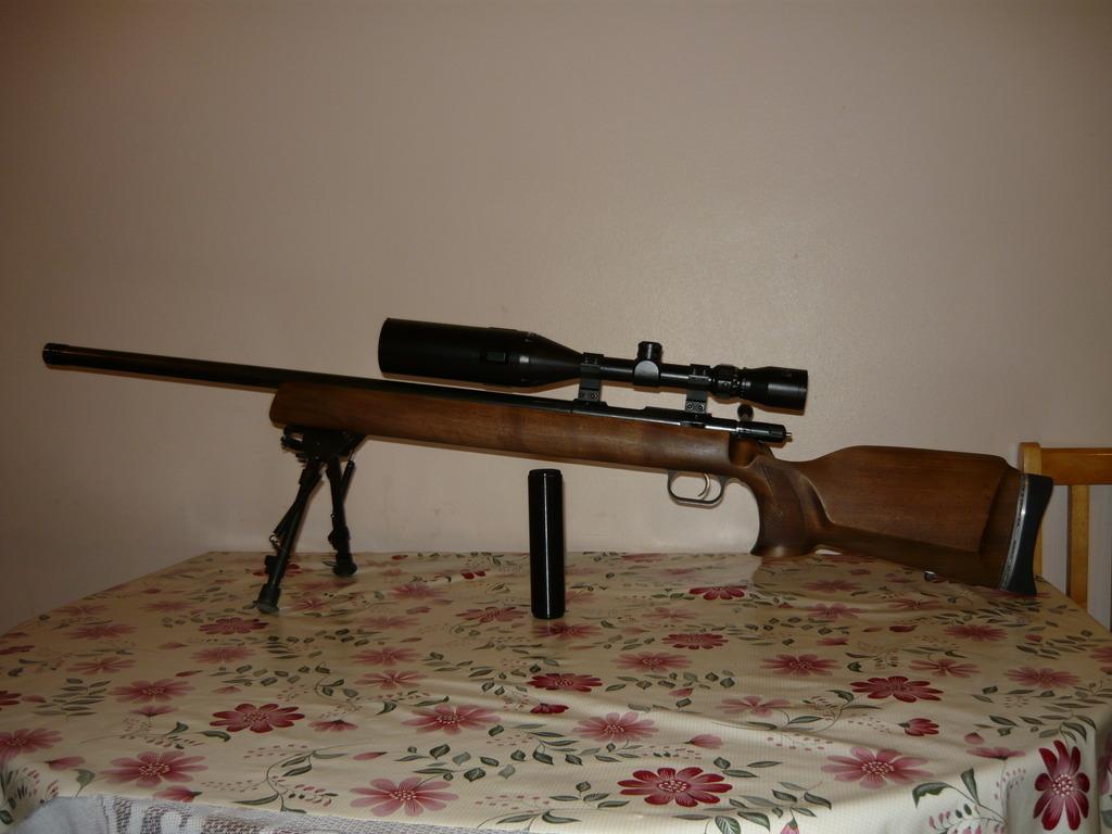 Anschutz , 54 Match + scope,  22 LR, Used - Excellent Condition