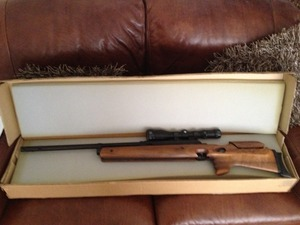 Gun Security Cabinet >> Whiscombe, JW70, .22, New, Under Lever, Air Rifle from Wakefield, West Yorkshire New and Used ...