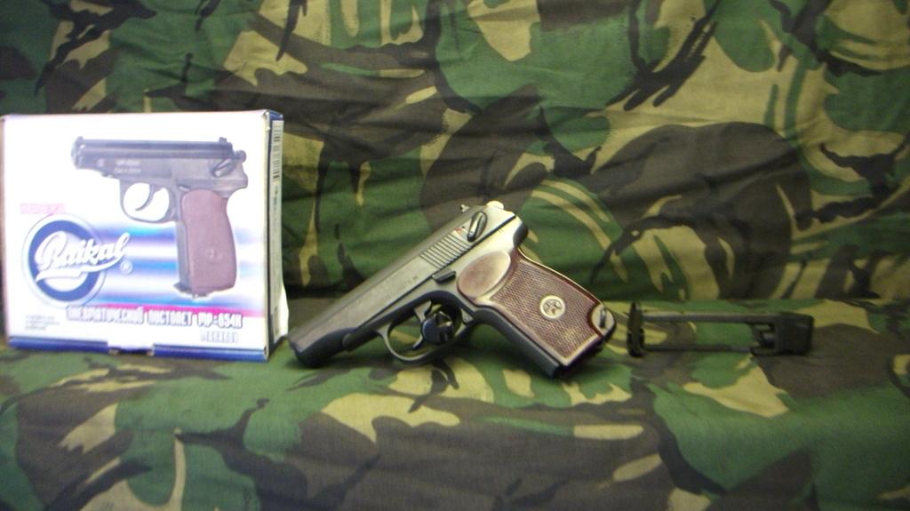 baikal, mp654k,  177, New, Air Pistol from st Clement guns