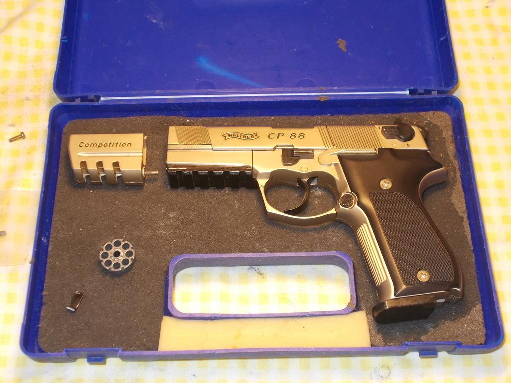 Umarex, Umarex Walther CP88 Nickel ,  177, Used - Average Condition