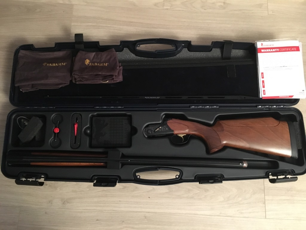 Fabarm, Fabarm Rs12 sporting , 12 gauge, Over and Under