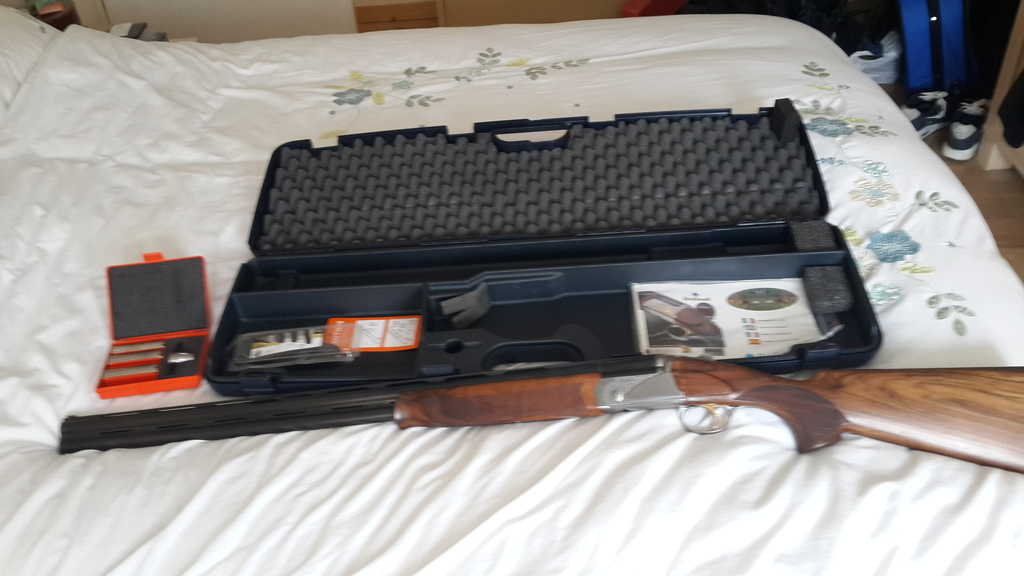 Bettinsoli, crypto m/c, 12 gauge, Over and Under