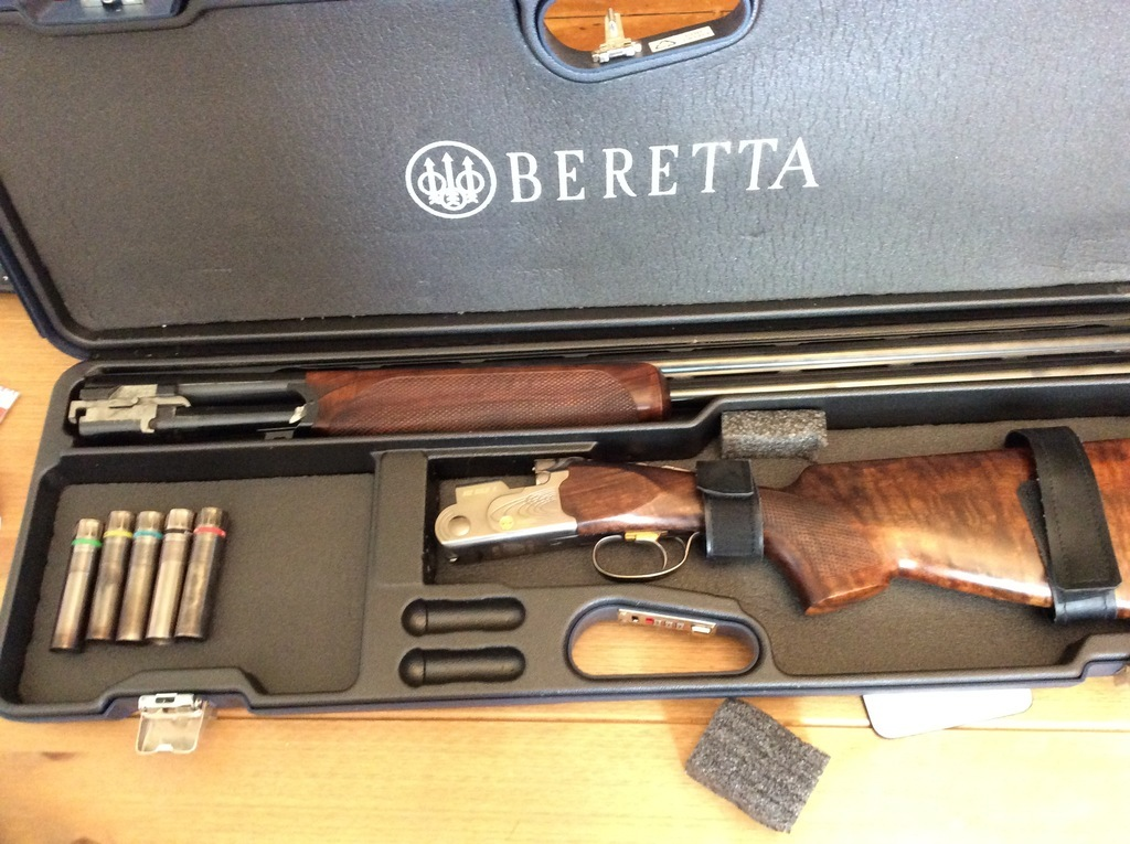Beretta 682 Gold E 12 Gauge Over And Under Left Handed Used