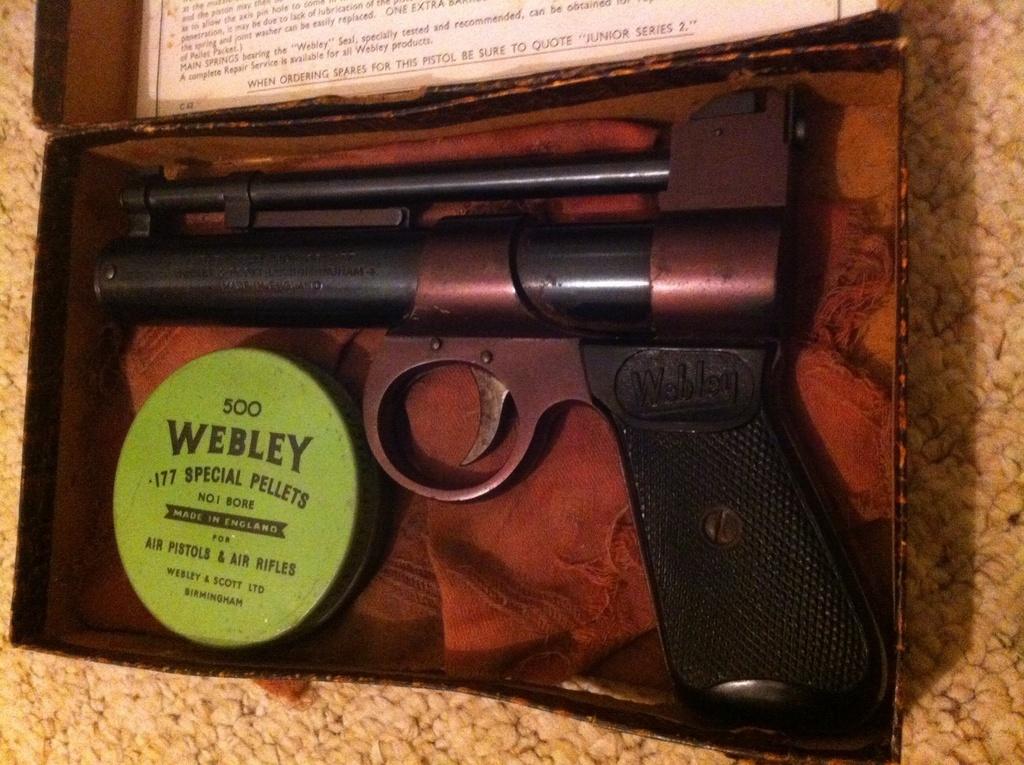 Webley, Webley Junior,  177, Used - Average Condition, Air