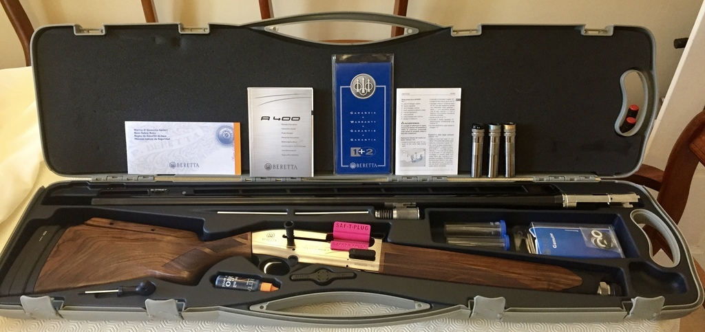Beretta Excel Multi Target With Kick Off 12 Gauge Semi Automatic