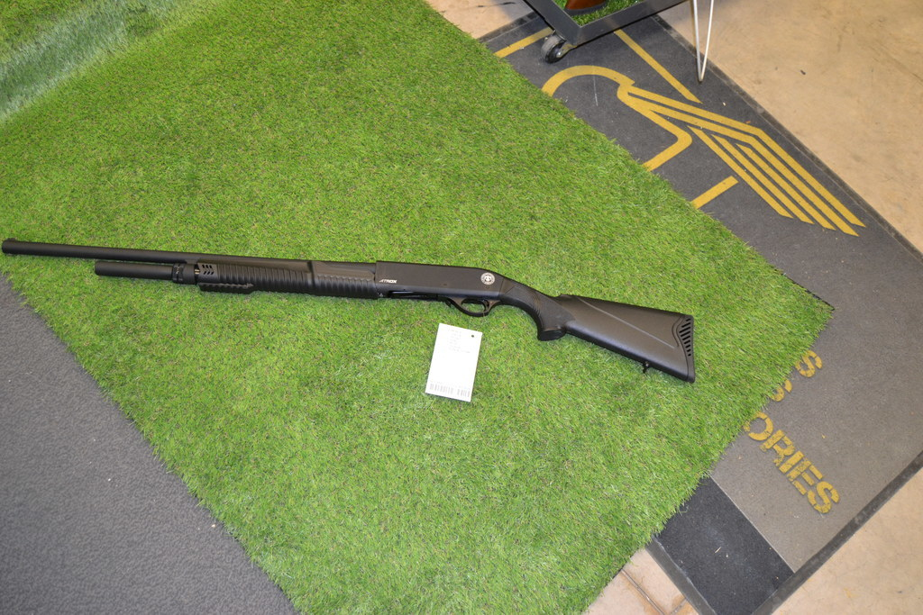 HUGLU, ATROX, 12 gauge, Pump Action, Right Handed, New, Shotgun from