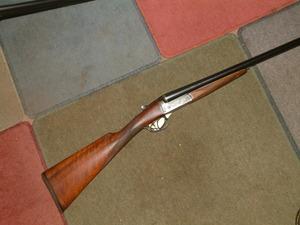 miroku 500e 12 gauge side by side right handed used average condition shotgun from. Black Bedroom Furniture Sets. Home Design Ideas
